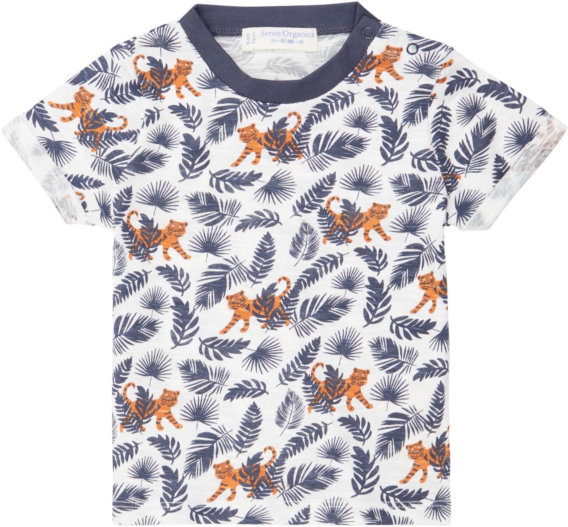 Sense Organic ODO Baby Shirt Kurzarm Tiger