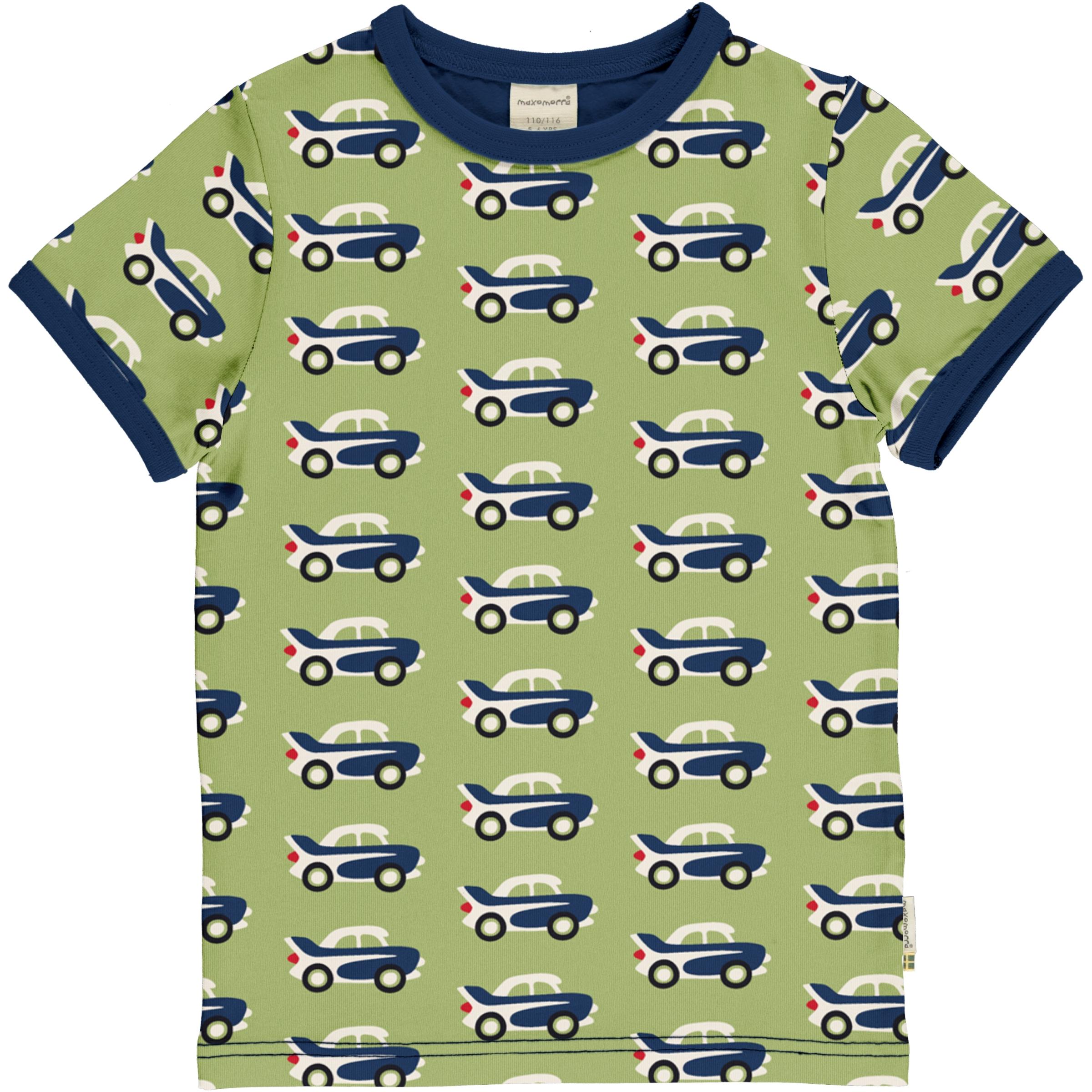Maxomorra T-Shirt CAR 134/140