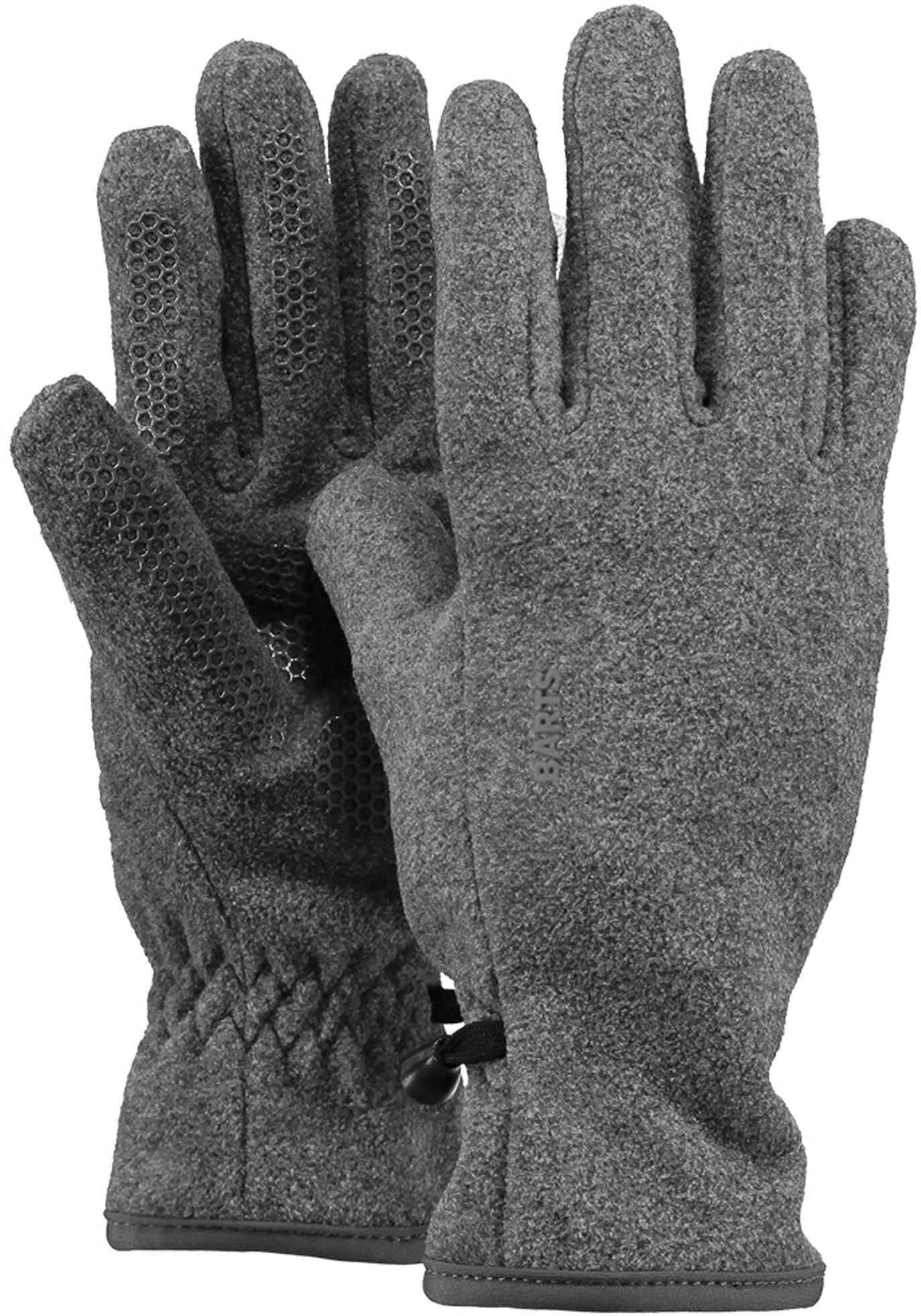 Barts Fingerhandschuhe Fleece grau