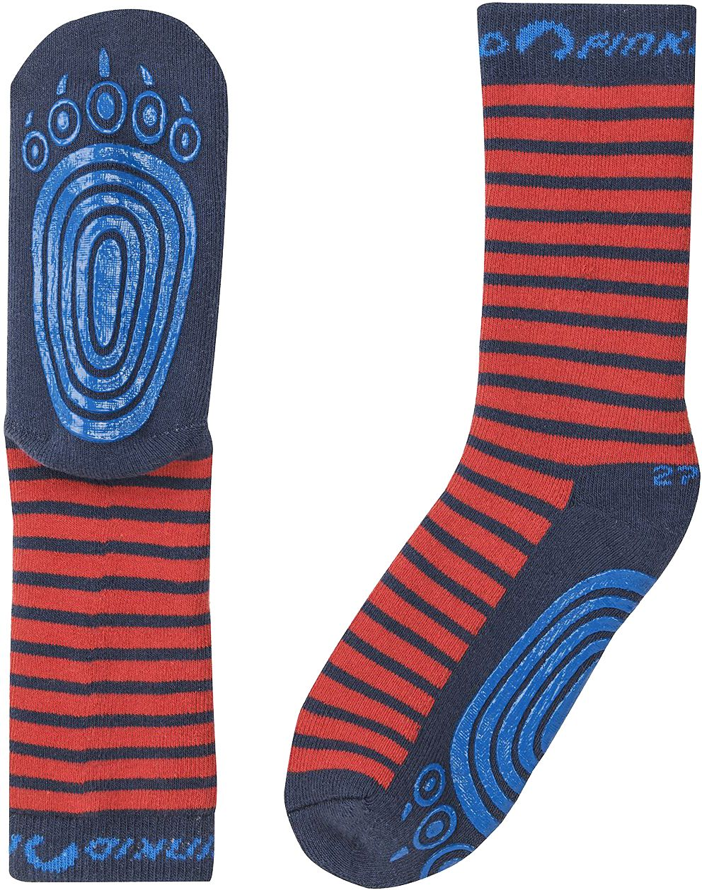 Finkid Stoppersocken TAPSUT red/navy