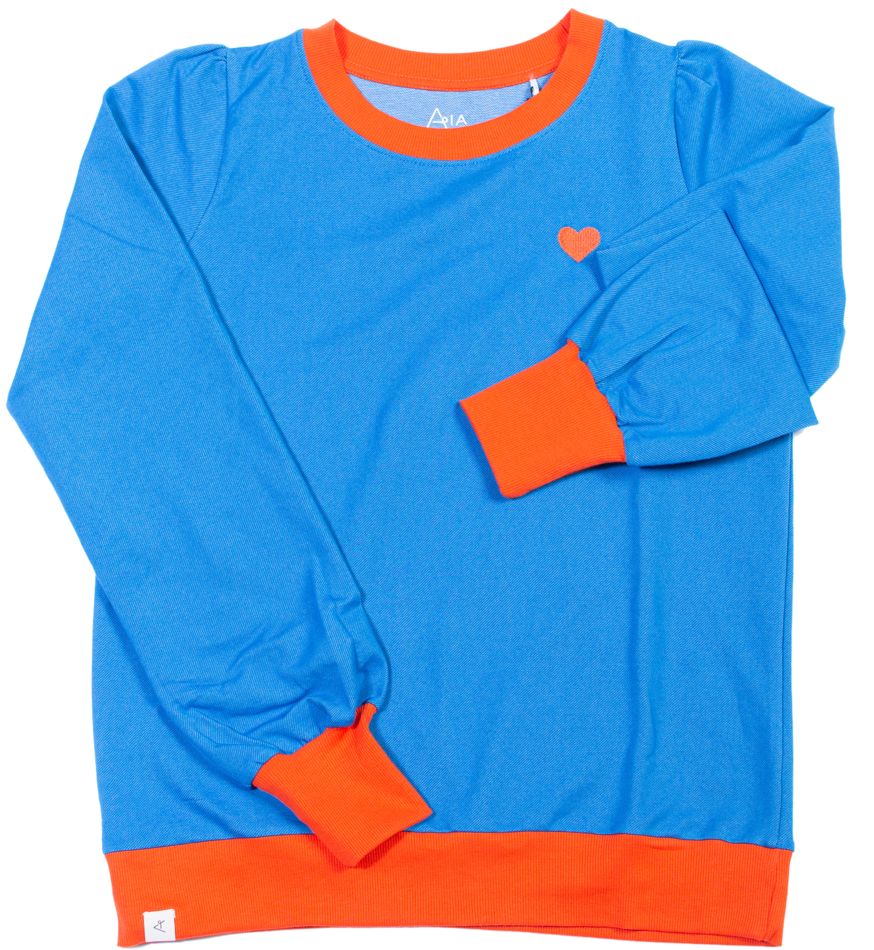 AIA by AlbaBaby Damen Sweatshirt For a Cozy Day snorkel blue