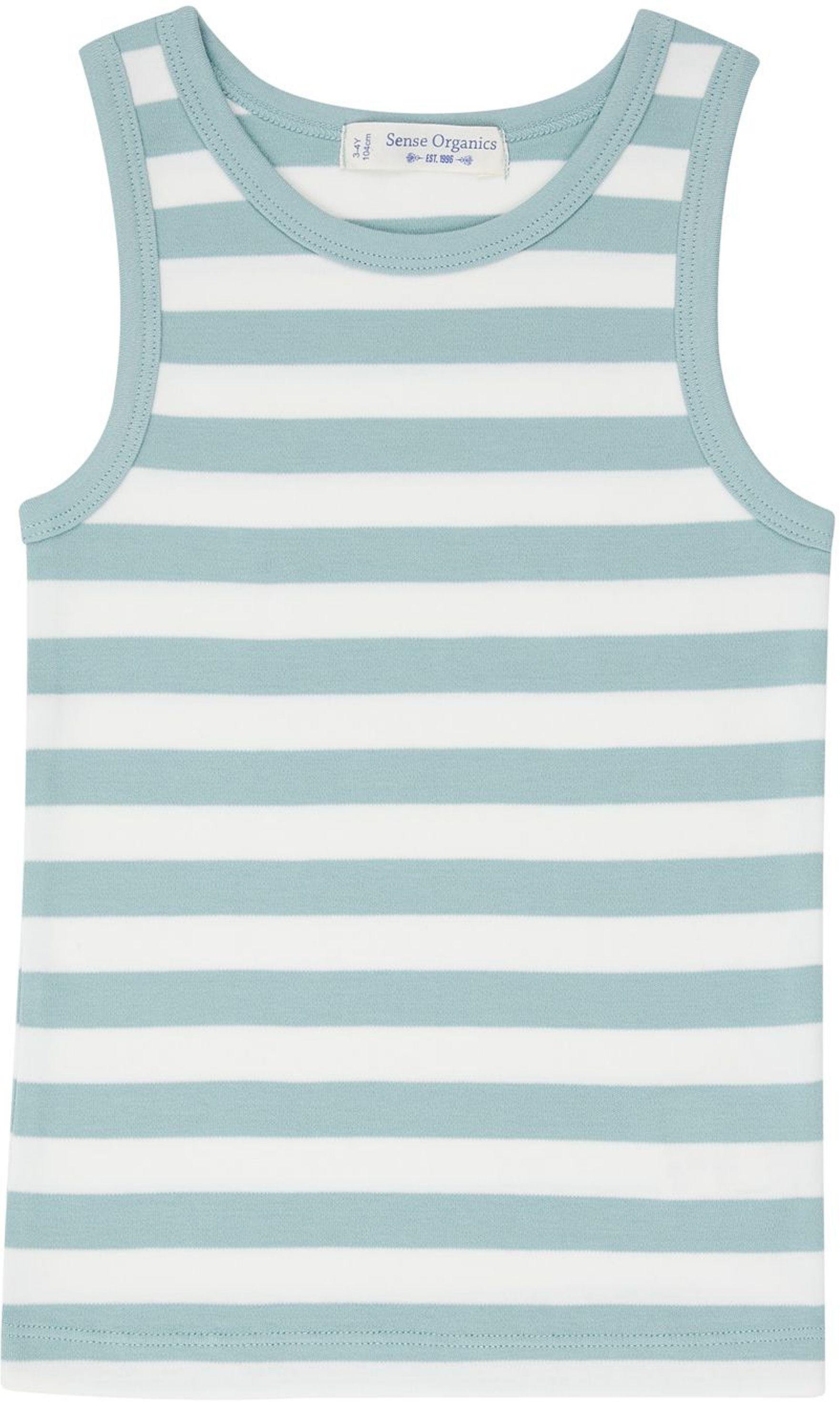 Sense Organic DON Unterhemd aqua/stripes