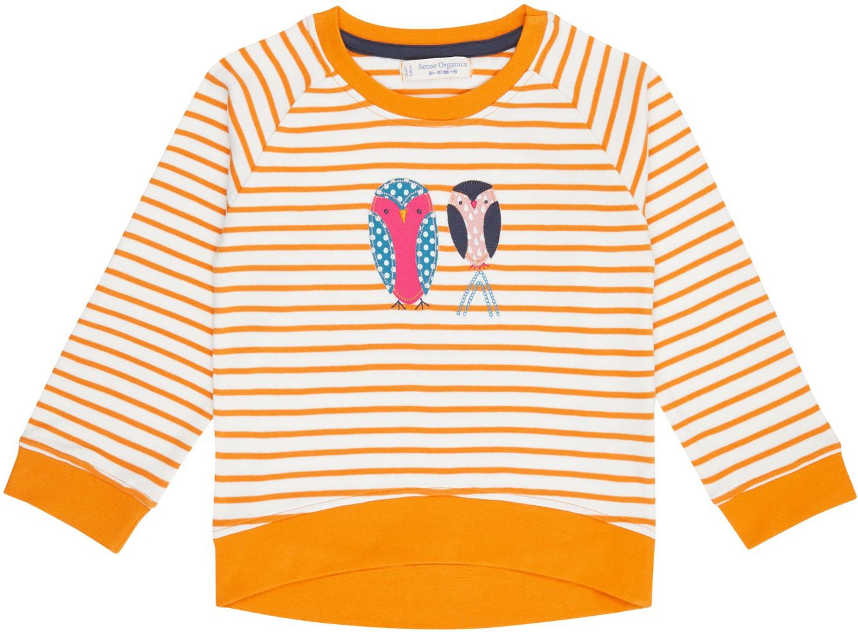 Sense Organic DENA Raglan Shirt stripes/owl