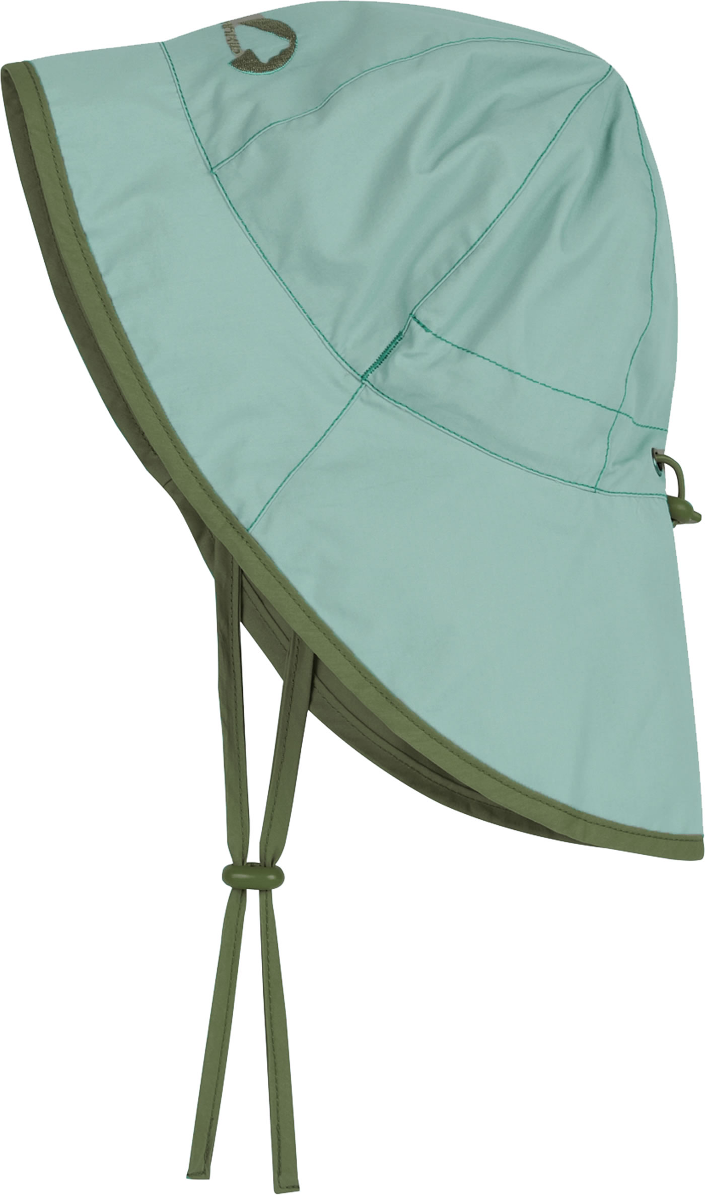 Finkid Sonnenhut RANTA SPORT trellis/bronze green