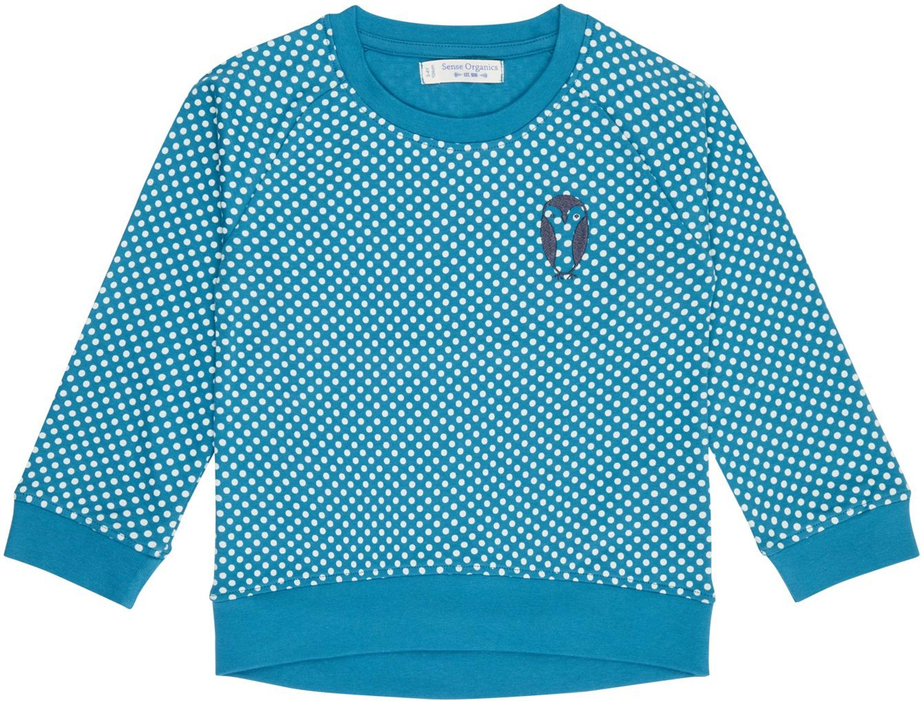 Sense Organic DENA Raglan Shirt AOP polka dots