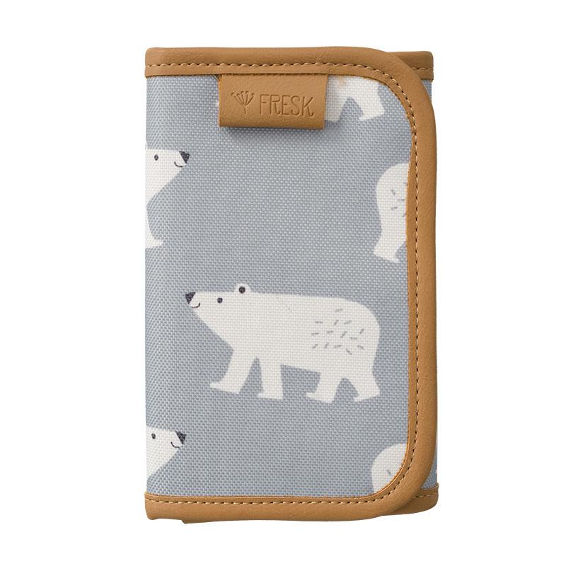 Fresk Geldbörse Billfold Polarbear