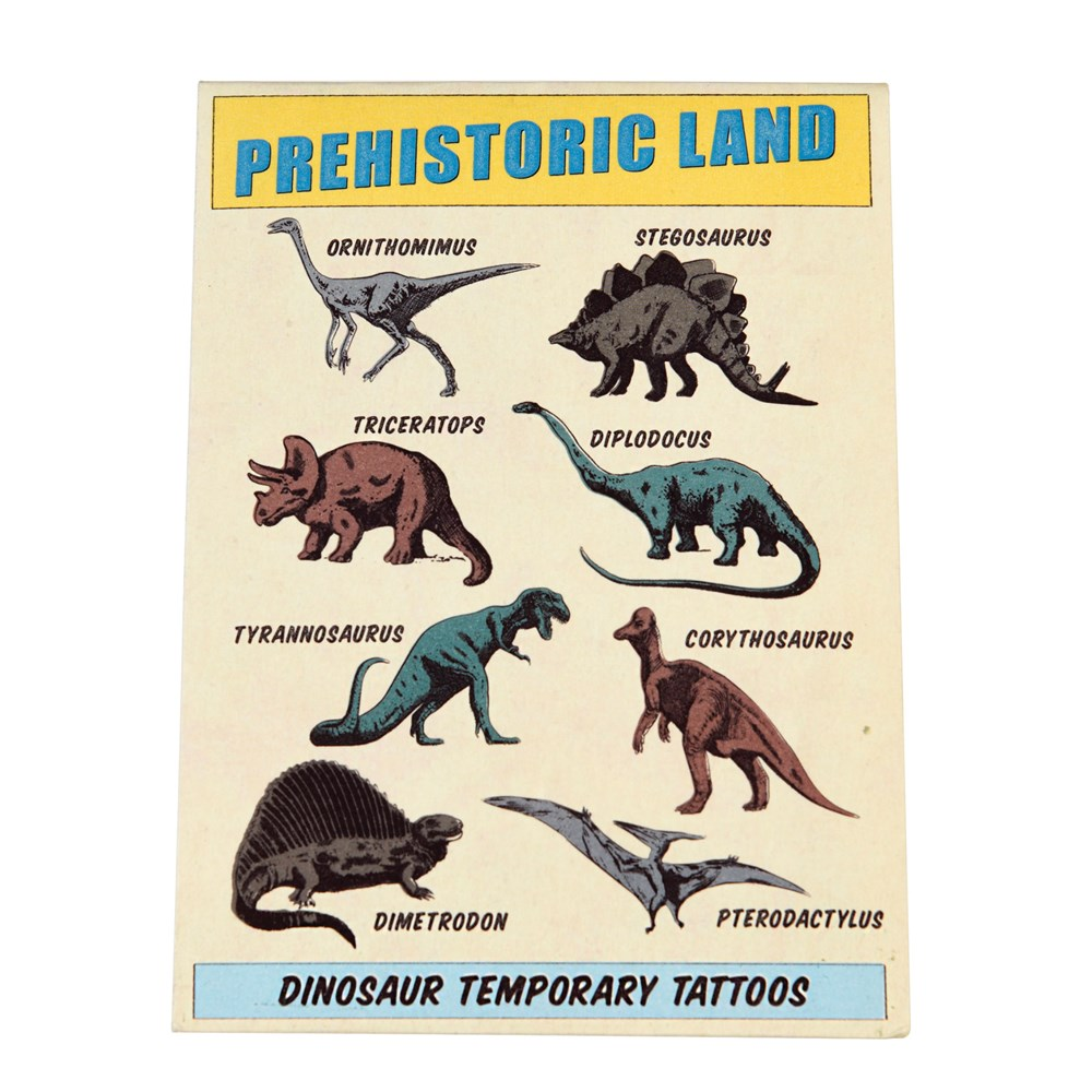 Rex London Tattoos Prehistoric Land