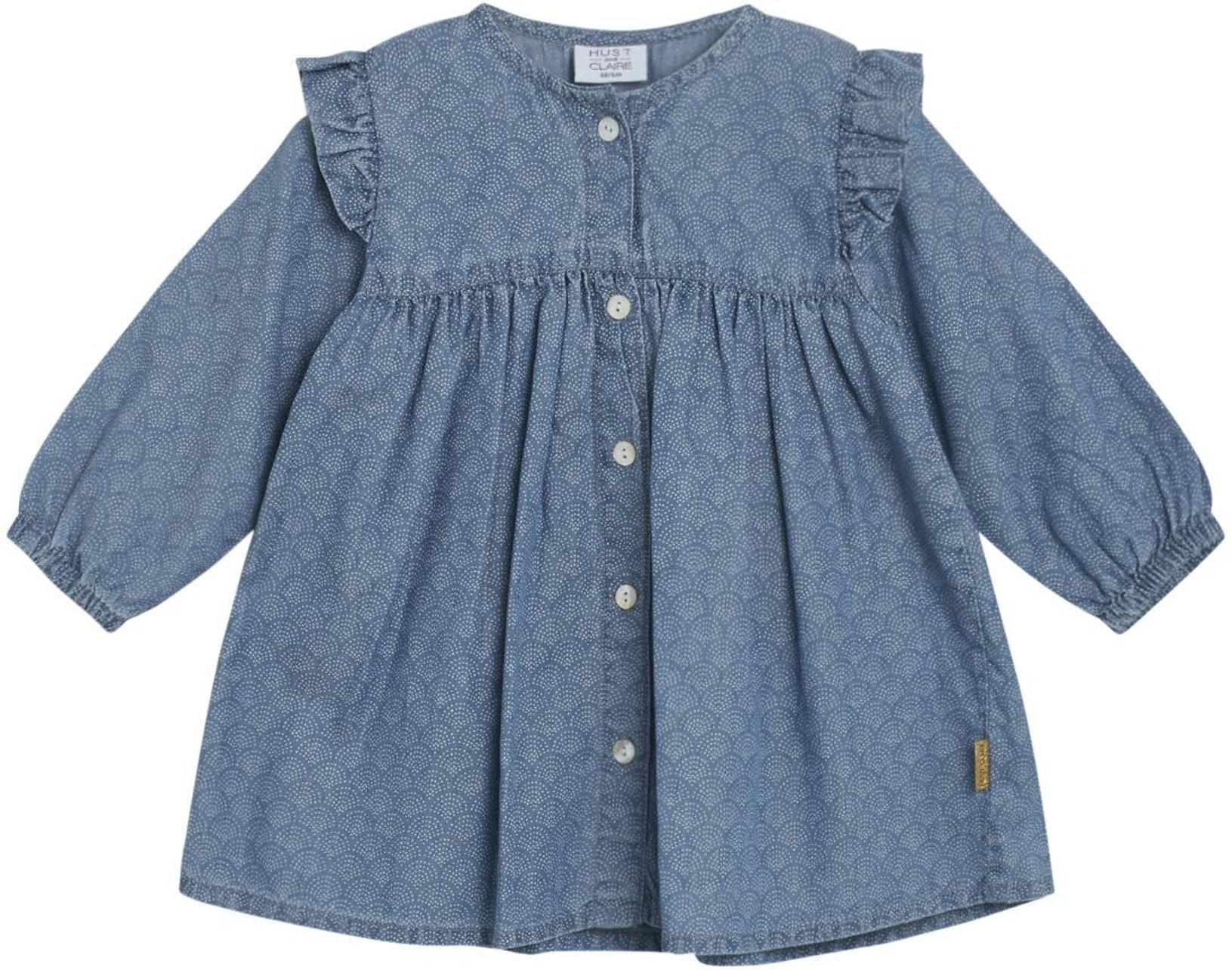 Hust & Claire Baby Girl Kleid Katri denim