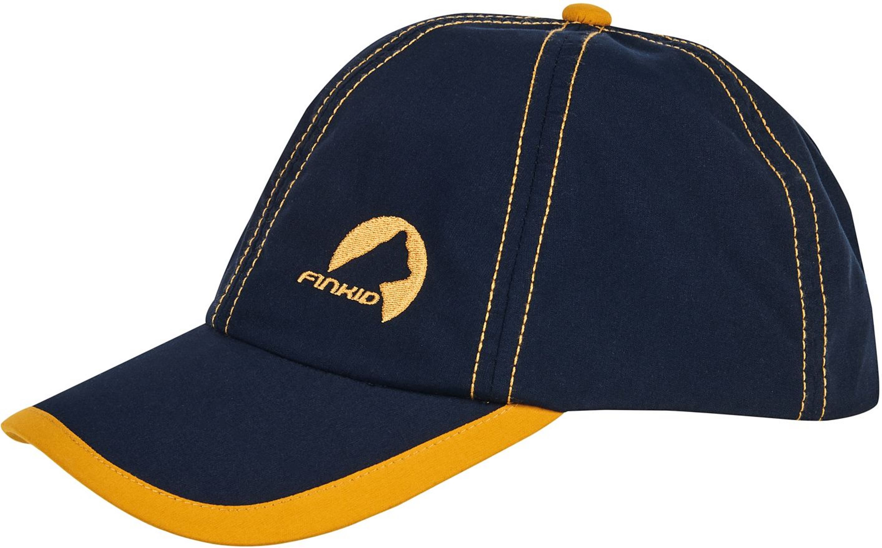 Finkid Basecap TAIKULI navy/golden yellow