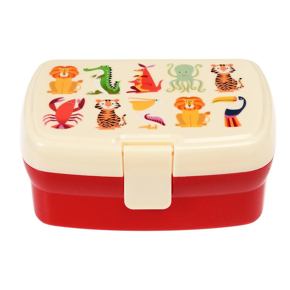 Rex London Lunchbox Colourful Creatures