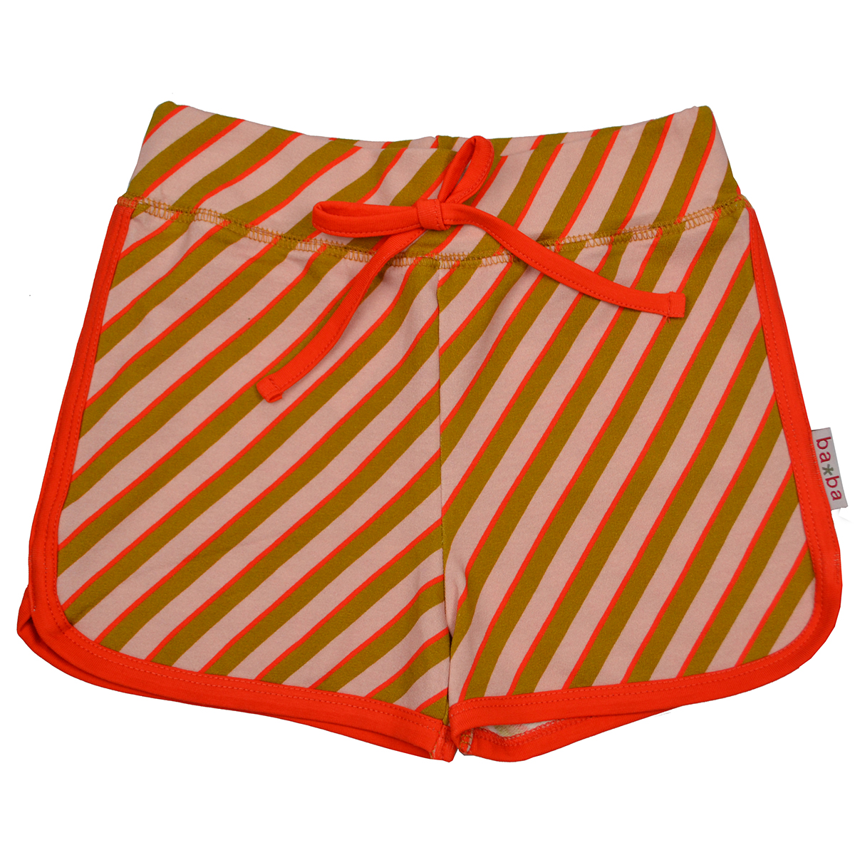 Baba Kidswear Shorts Diagonal pink