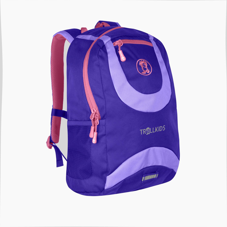 Trollkids Trollhavn Daypack M, 15 L dark purple/lavendel