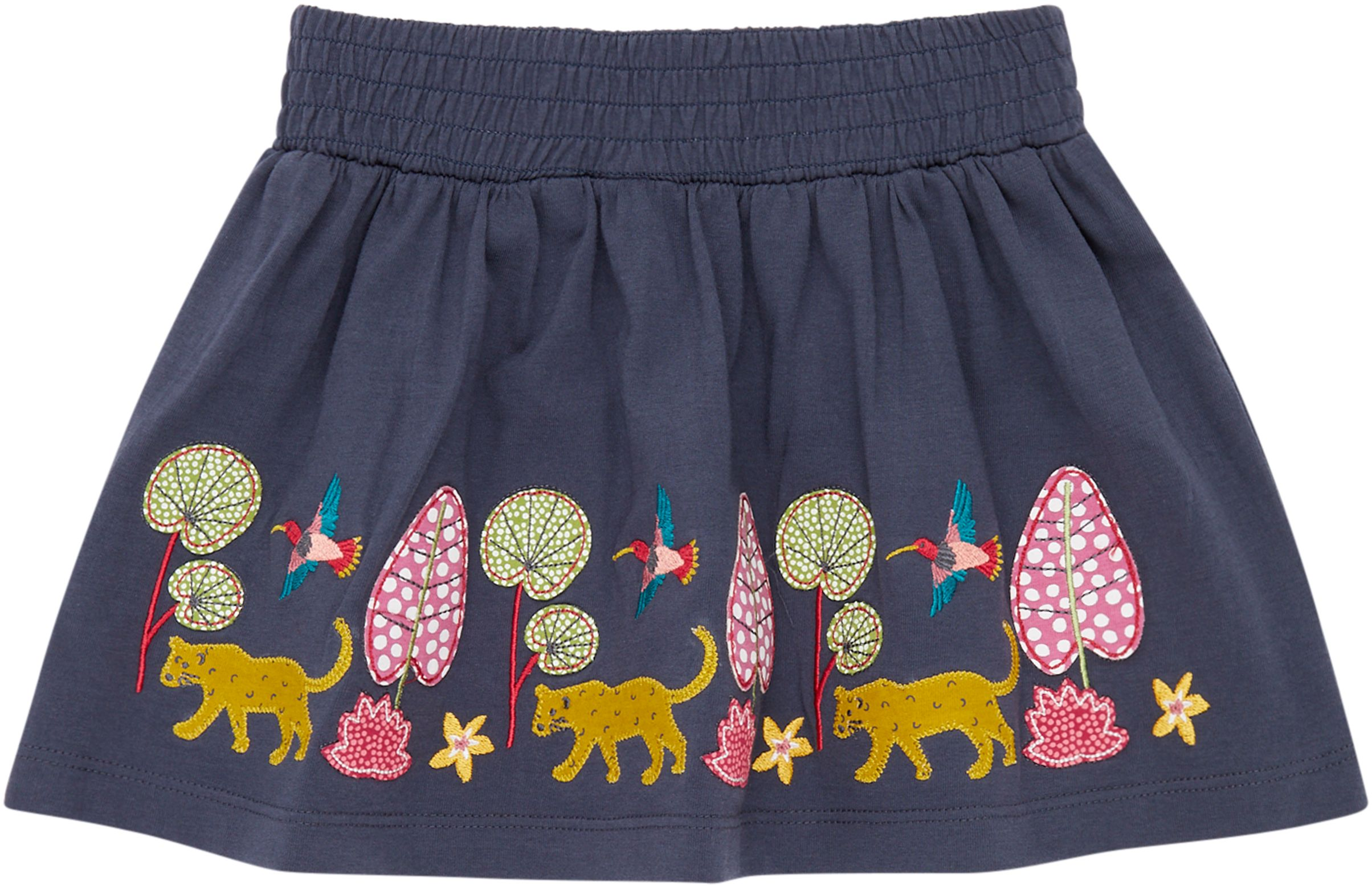 Sense Organic MALIA Skirt Navy Leopard