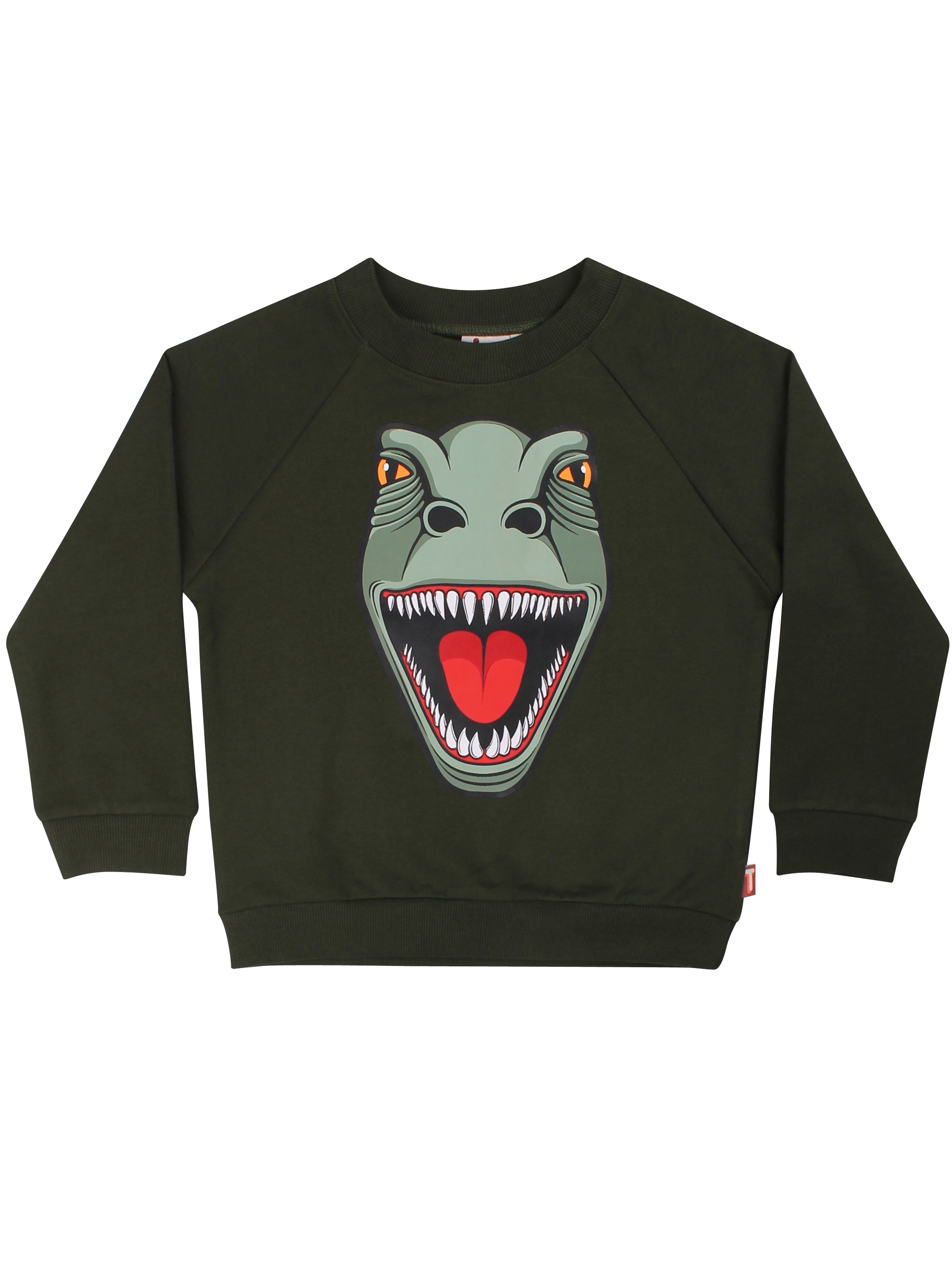 DYR Boy Bellow Sweat Dk Safari T-REX