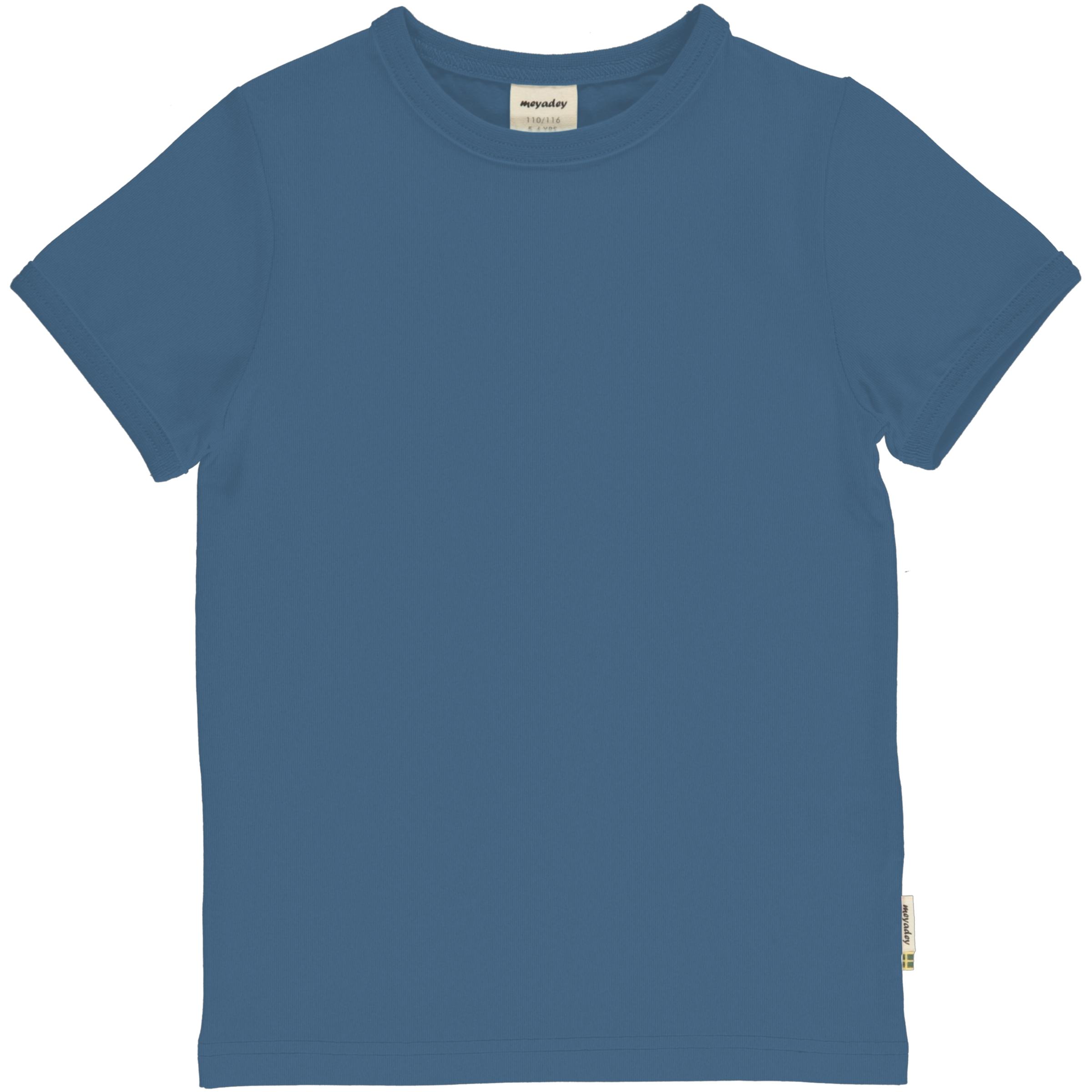 Meyadey by Maxomorra T-Shirt Solid MOONLIGHT BLUE 110/116