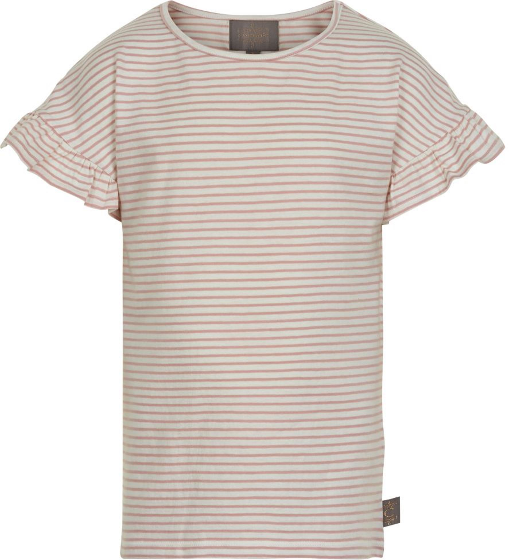 Creamie Kurzarmshirt Stripe rose