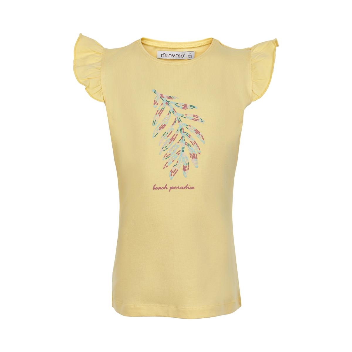 Minymo Girl T-Shirt Feder Sunlight